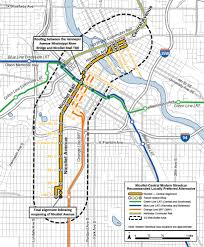 Map Of Minneapolis Transformative Transit Projects Move Forward This Fall Transit