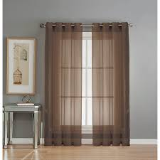 108 Drapery Panels Amazon Com Window Elements Sheer Elegance Grommet 108 X 84 In