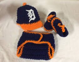 Detroit Tigers Crib Bedding Crochet Detroit Tiger Etsy