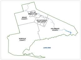 grand map grand erie district school board school boundary maps