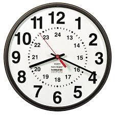 24 hour wall clock roman numerals wall clocks decoration