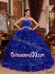 unique quinceanera dresses royal blue sweetheart quinceanera dress with ruches and ruffled