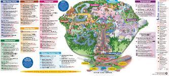 walt disney resort map disney magic maps of walt disney