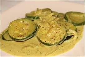 cuisiner courgettes poele courgettes à l indienne au lait de coco végécarib