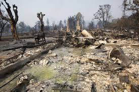 Wildfire Woodland Hills Ca by 16 Devastating Pictures From The Aftermath Of California U0027s Wildfires