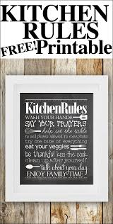 best 25 kitchen rules ideas on pinterest kitchen signs kitchen kitchen rules free printable