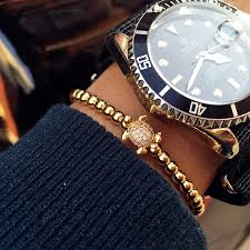mens luxury bracelet images Invicta jewelry tortoise lux beads jpg