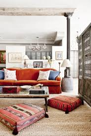 orange sofa interior design rustic living room with orange sofa furniture
