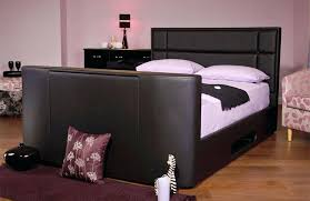 Tv Storage Bed Frame Tv Storage Bed Frame Sweet Dreams Faux Leather Bed With Storage