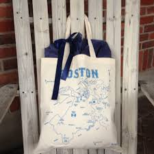 welcome wedding bags boston themed wedding welcome bags