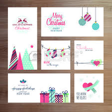 christmas and new year greeting card templates royalty free