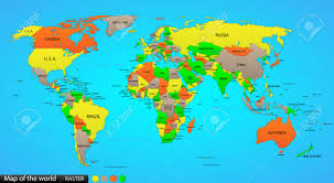 world map political with country names free real world clipart world country pencil and in color real world