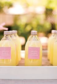 summer wedding favors summer wedding favor with lemonade in retro bottles ipunya
