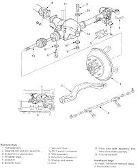 Cv Half Shaft Assembly by Isuzu Rodeo I Am Changing Cv Axles Have Everything Off But