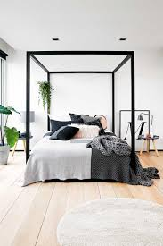 Black King Canopy Bed Bedroom Canopy Curtains Wall Bed Canopy Bed Canopy Frame Diy