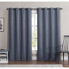 Classics Curtains Classics Duncan 84 Inch Grommet Top Blackout Curtain