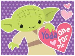 yoda valentines card free valentines day card printables
