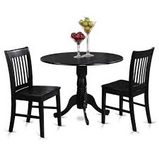 small table with two chairs kitchen elegant round small kitchen table sets in shiny black