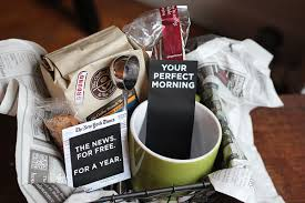 coffee gift basket ideas gift box ideas for dads ruffled