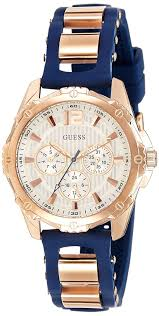 bracelet watches guess images Guess w0325l8 intrepid 2 ladies sport two tone bracelet watch jpg