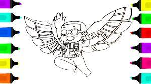 falcon civil war coloring book kids learn draw falcon