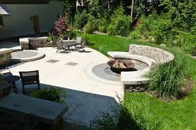 Firepit Garden Cast Iron Pit Landscape Craftsman With Curb Appeal Garden