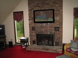 flat screen over fireplace ideas part 48 excellent inspiring