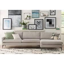 mid century modern sectional sofas you u0027ll love wayfair