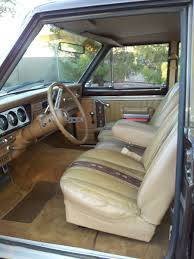 1987 jeep wagoneer interior 1979 cherokee s 4 door u2013 the jeep farm