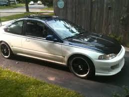 1993 honda civic si coupe custom 1993 honda civic coupe b16a jdm