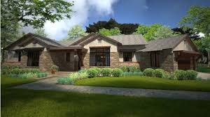 contemporary craftsman style ranch hwbdo78132 ranch from