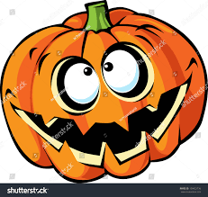 scary halloween pumpkin cartoon stock vector 158422736 shutterstock