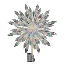 13 5 lit acrylic starburst tree topper white wondershop target