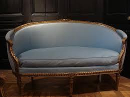 canape de style canapé corbeille en bois doré napoléon iii de style louis xvi