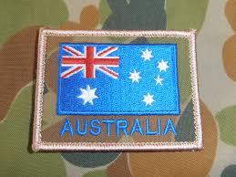 Army Uniform Flag Patch Dpcu Australia Flag Patch Gbf Militaria
