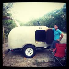 diy camper trailer made of wood