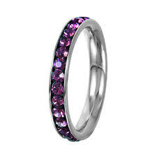 birthstone stackable rings for stackable birthstone rings ebay