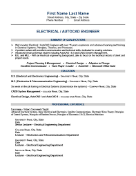 Electrical Engineer Resume Sample by Electrical Engineer Resume Template Premium Resume Samples U0026 Example