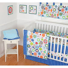 Sumersault Crib Bedding Upc 739738077816 Sumersault Simple Circles Navy 9 Nursery