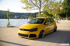 volkswagen thing yellow vw polo gti 6r rocket bunny volxzone