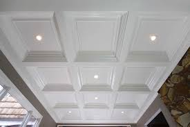 Coffered Ceiling Lighting by Coffered Ceiling Lighting And White Coffered Ceiling Paint Ideas