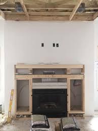 cabinets and fireplace u2014 newland architecture