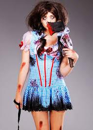 Womens Dorothy Halloween Costume Halloween Zombie Dorothy Diva Costume