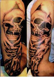 collection of 25 3d biomechanical tattoos