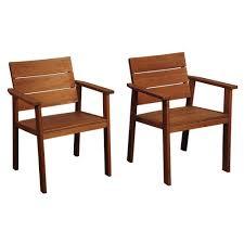 Patio Furniture Kelowna Amazonia Nelson 2 Piece Eucalyptus Easy Carver Patio Chair Set