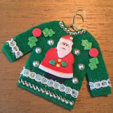 Ugly Christmas Sweater Decorations 178 Best Felt Ugly Sweater Ornaments Images On Pinterest Ugly