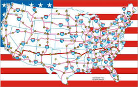 map us interstate system united states interstate highway map map of the us interstate