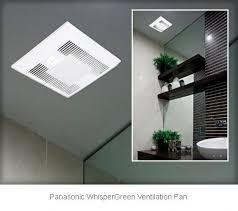 panasonic whisper quiet bathroom fan with light bathroom design