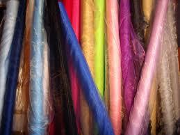 sheer organza fabric voile 1m metre curtain wedding material 150cm