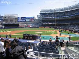 Yankee Stadium Floor Plan Yankee Stadium Field Mvp 122 Seat Views Seatgeek